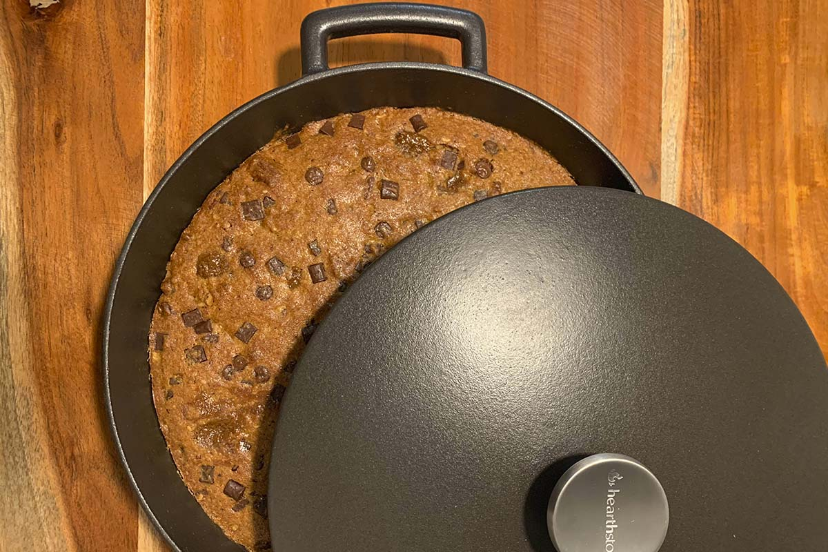 Receta de cookie en cocotte baja Diamond by @borjalopezz